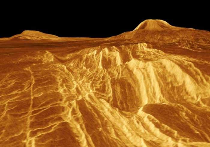 Ảnh bề mặt sao Kim của NASA